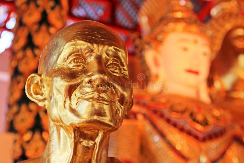 Εικόνα του Βούδα σε Wat Suan Dok, Chiang Mai, Ταϊλάνδη στοκ εικόνες