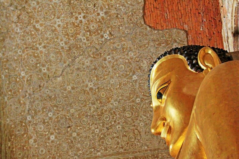 Εικόνα του Βούδα ναών Htilominlo, Bagan, το Μιανμάρ στοκ εικόνες με δικαίωμα ελεύθερης χρήσης