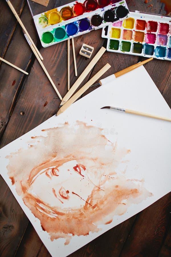 Εικόνα του θηλυκού στοκ φωτογραφία με δικαίωμα ελεύθερης χρήσης