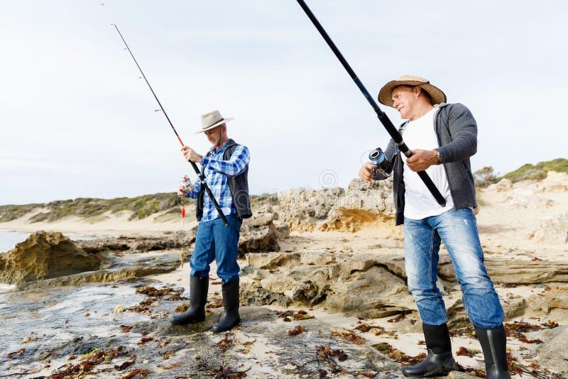Εικόνα του ψαρά στοκ εικόνες