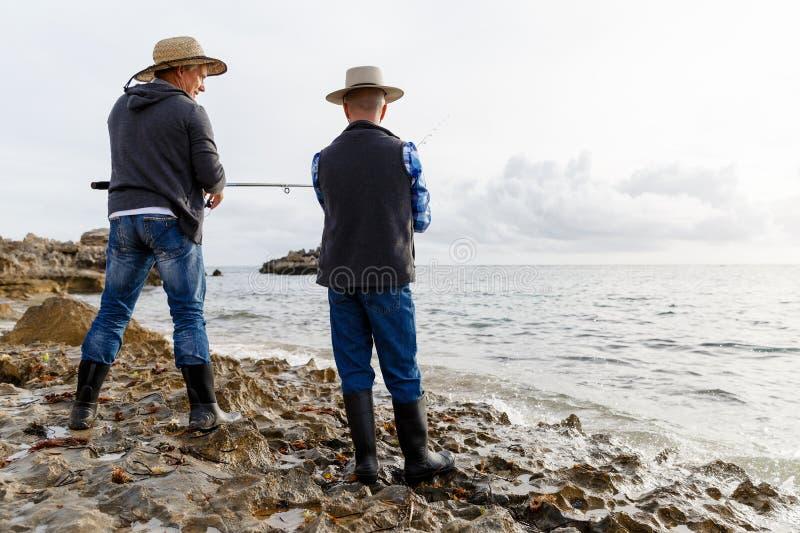 Εικόνα του ψαρά στοκ φωτογραφίες με δικαίωμα ελεύθερης χρήσης