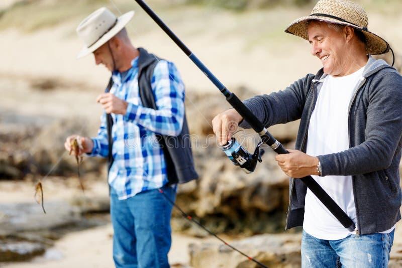 Εικόνα του ψαρά στοκ φωτογραφία