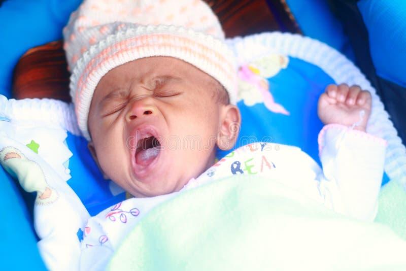 Εικόνα του ύπνου αγοράκι στοκ εικόνες