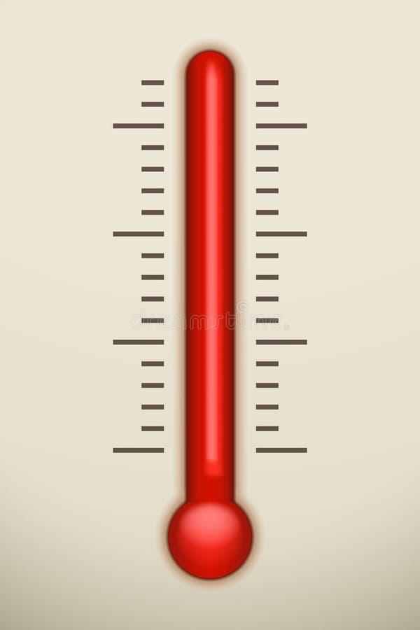 Εικόνα του termometer απεικόνιση αποθεμάτων