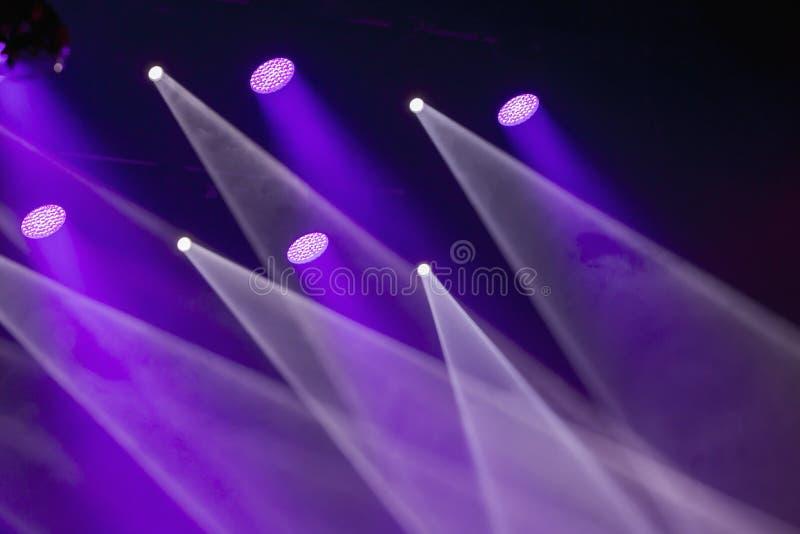 Εικόνα των αποτελεσμάτων σκηνικού φωτισμού στοκ φωτογραφία με δικαίωμα ελεύθερης χρήσης
