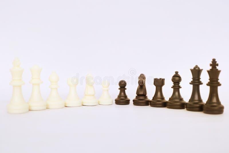 Εικόνα των ενέχυρων σκακιού στοκ εικόνες