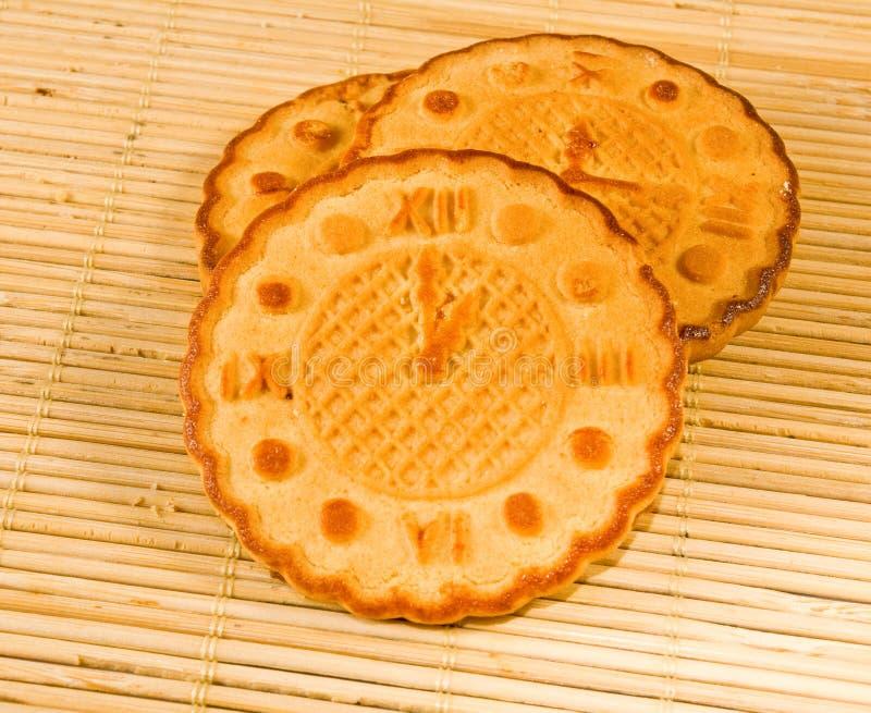 Εικόνα των νόστιμων μπισκότων στοκ εικόνες