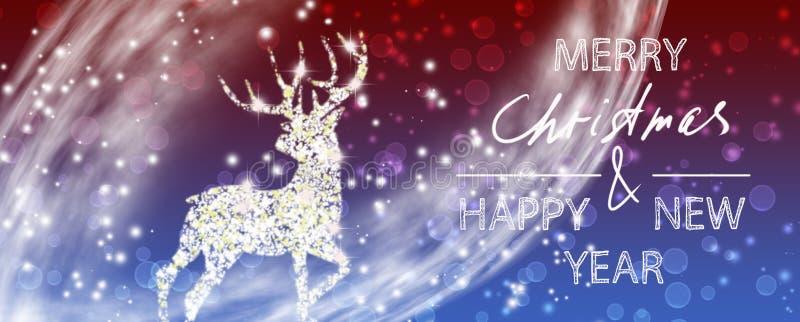 Εικόνα των υπέροχων χριστουγεννιάτικων διακοσμήσεων του καλλιτέχνη της γιορτής στοκ εικόνες