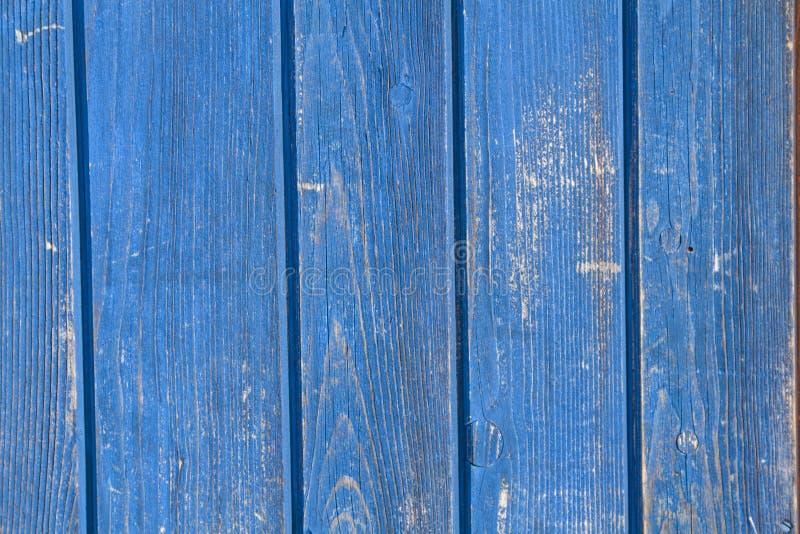 Εικόνα υποβάθρου - μπλε ξύλινος τοίχος στοκ εικόνες με δικαίωμα ελεύθερης χρήσης