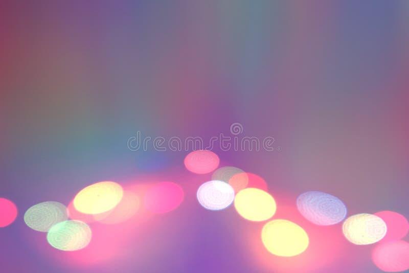 Εικόνα υποβάθρου του σταδίου στα φω'τα χρώματος στοκ φωτογραφία