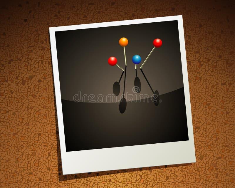 εικόνα pushpin διανυσματική απεικόνιση