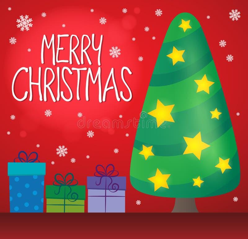 Εικόνα 6 thematics Χαρούμενα Χριστούγεννας ελεύθερη απεικόνιση δικαιώματος