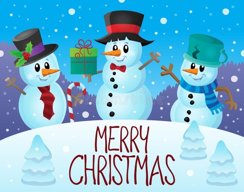 Εικόνα 7 thematics Χαρούμενα Χριστούγεννας ελεύθερη απεικόνιση δικαιώματος