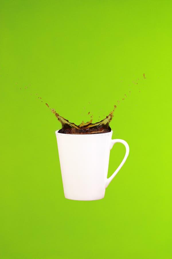 εικόνες έννοιας συλλογών καφέ τέχνη ελάχιστη Σταθερές βάσεις Παφλασμοί καφέ στοκ εικόνες με δικαίωμα ελεύθερης χρήσης