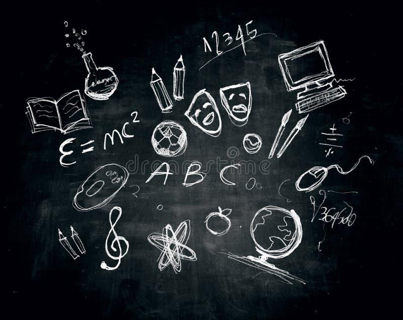 Εικόνες σχολικών θεμάτων απεικόνιση αποθεμάτων