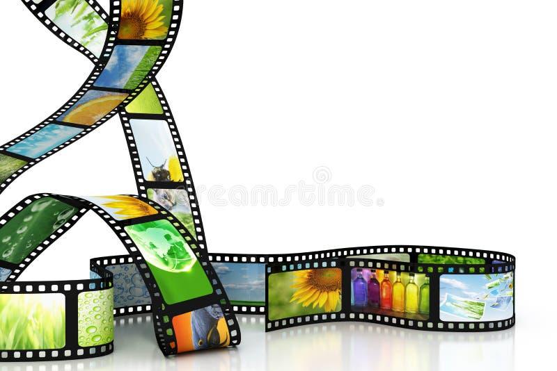 εικόνες ταινιών απεικόνιση αποθεμάτων