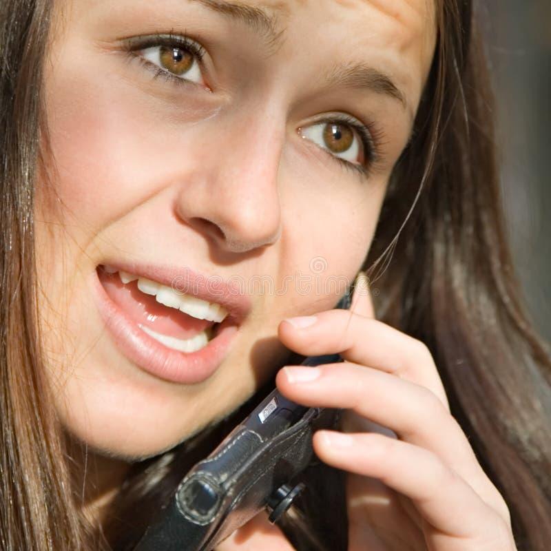 ειλικρινές τηλέφωνο συν&omi στοκ εικόνες