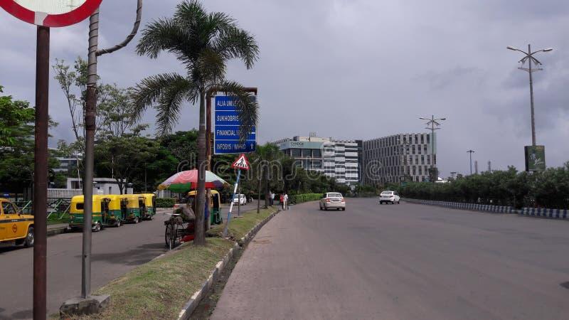 ΕΙΛΙΚΡΙΝΕΙΑ Ι Τ νέα πόλη Kolkata βιομηχανίας στοκ εικόνες με δικαίωμα ελεύθερης χρήσης