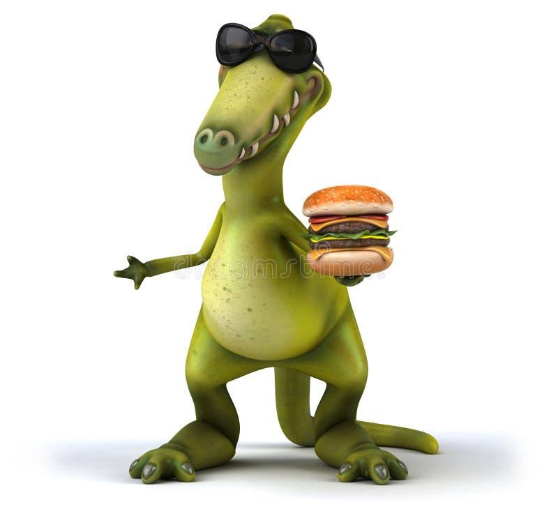 δεινόσαυρος διανυσματική απεικόνιση