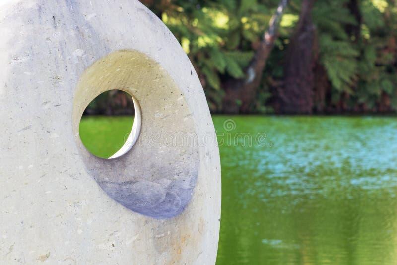 Ειρήνη αγκύρων, ένα γλυπτό από τη Jocelyn Platt στοκ εικόνες