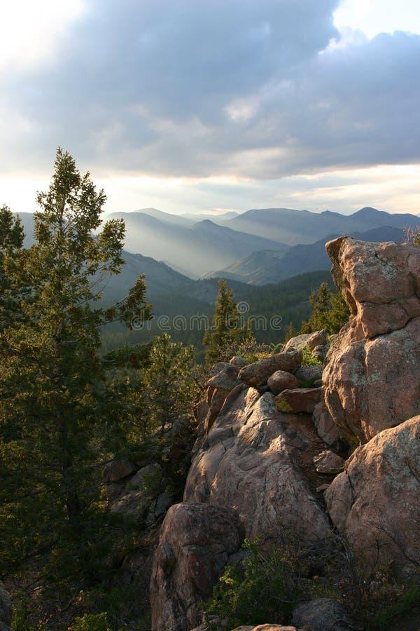 ειρήνη βουνών στοκ φωτογραφία
