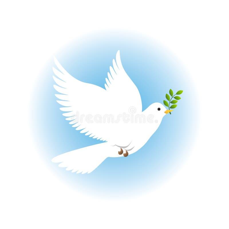 ειρήνη περιστεριών απεικόνιση αποθεμάτων