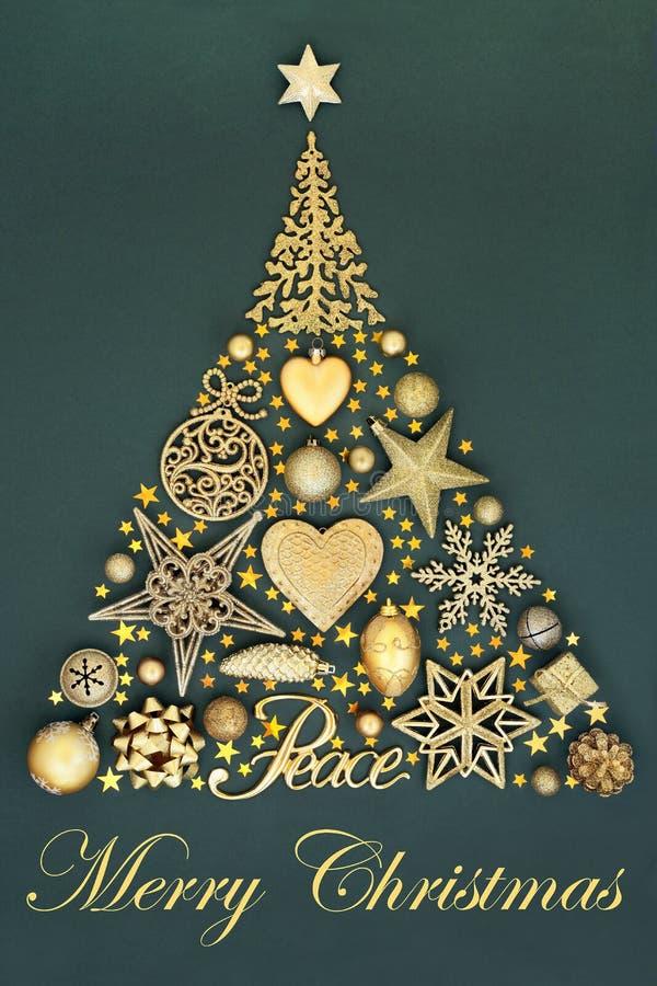 Ειρήνη στα Χριστούγεννα στοκ εικόνα με δικαίωμα ελεύθερης χρήσης