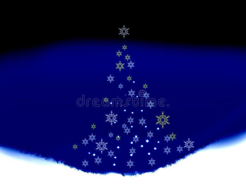 ειρήνη Χριστουγέννων διανυσματική απεικόνιση