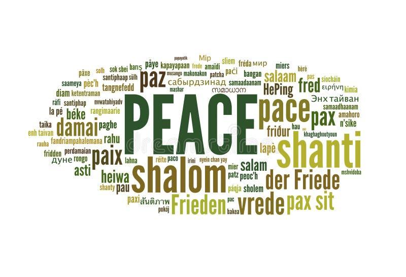 Ειρήνη ελεύθερη απεικόνιση δικαιώματος