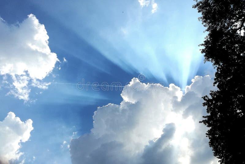 Ειρηνικά ουρανός στοκ εικόνα με δικαίωμα ελεύθερης χρήσης