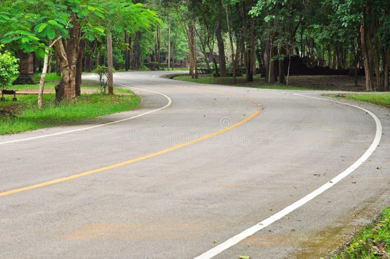 ειρηνικός δρόμος πάρκων κα στοκ φωτογραφία