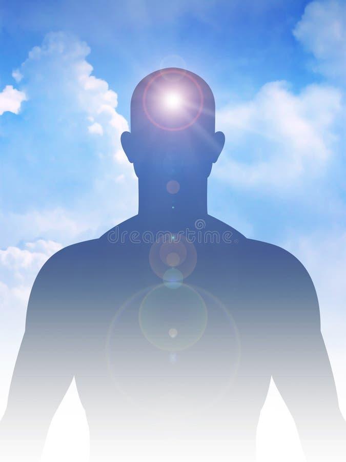 Ειρηνικό μυαλό και σώμα στοκ εικόνες με δικαίωμα ελεύθερης χρήσης