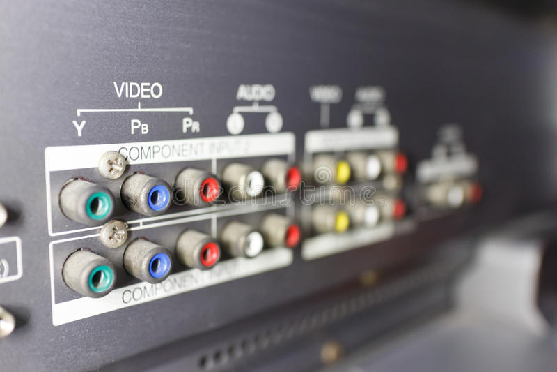 Εισαγωγή TV στοκ εικόνες