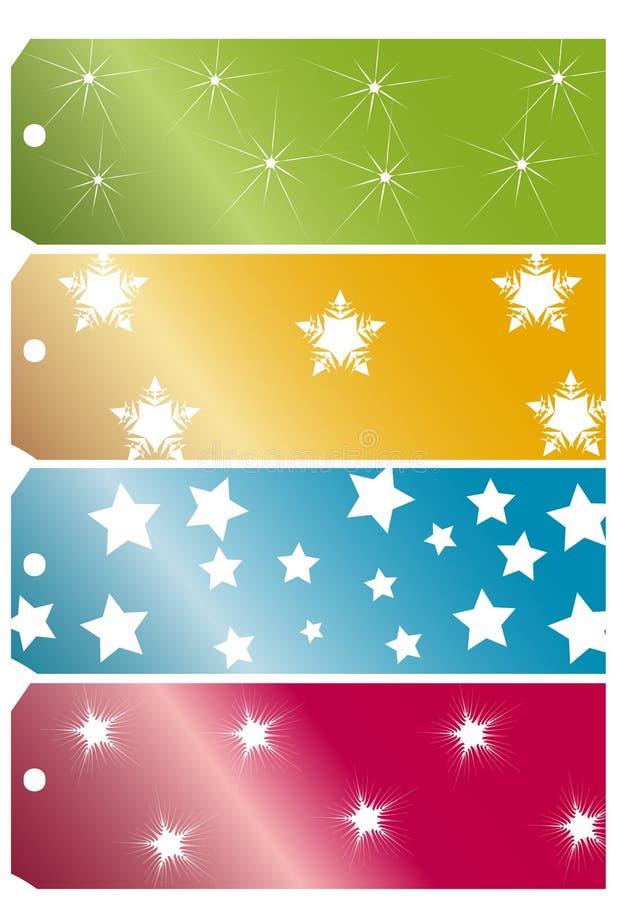 Εισιτήρια Χριστουγέννων απεικόνιση αποθεμάτων