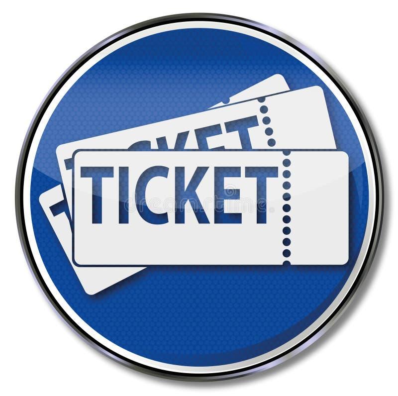 εισιτήρια ελεύθερη απεικόνιση δικαιώματος