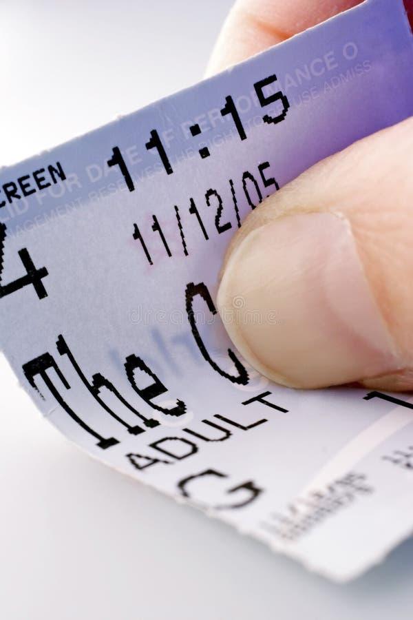 εισιτήριο εισόδων στοκ εικόνα