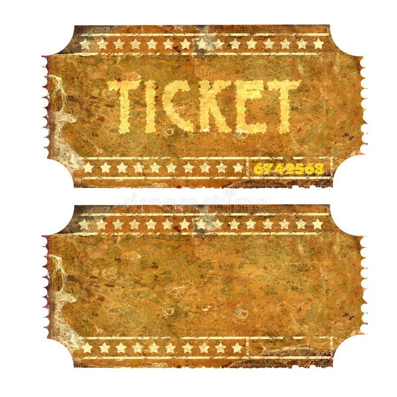 Εισιτήριο στοκ εικόνες με δικαίωμα ελεύθερης χρήσης