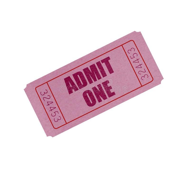 εισιτήριο στοκ φωτογραφία με δικαίωμα ελεύθερης χρήσης