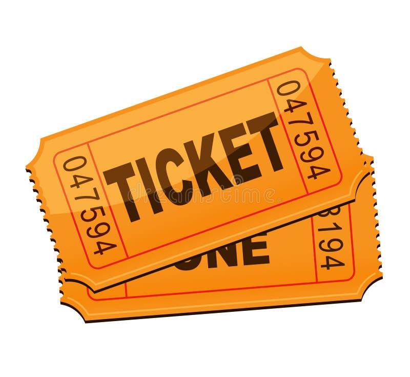 εισιτήριο στοκ εικόνες