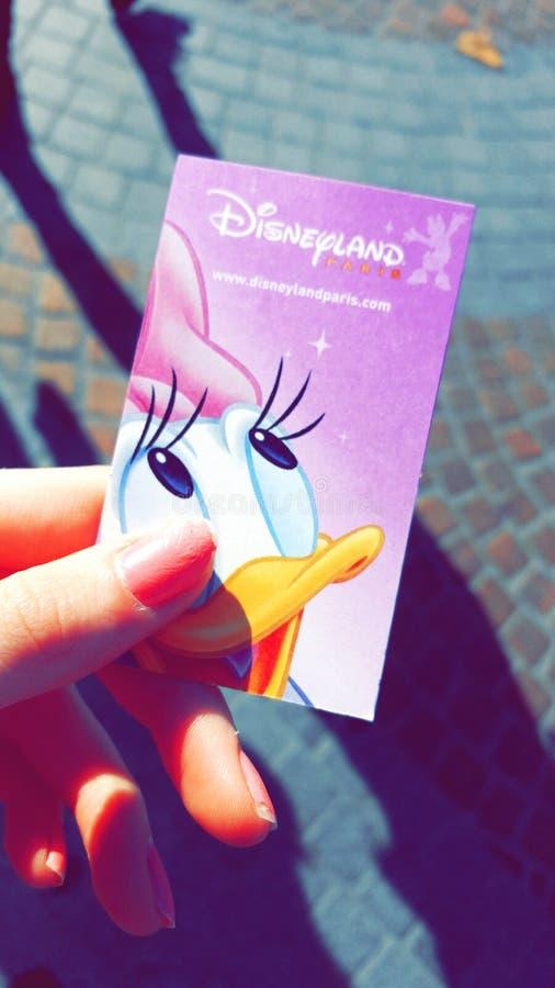 Εισιτήριο Disneyland στοκ φωτογραφίες