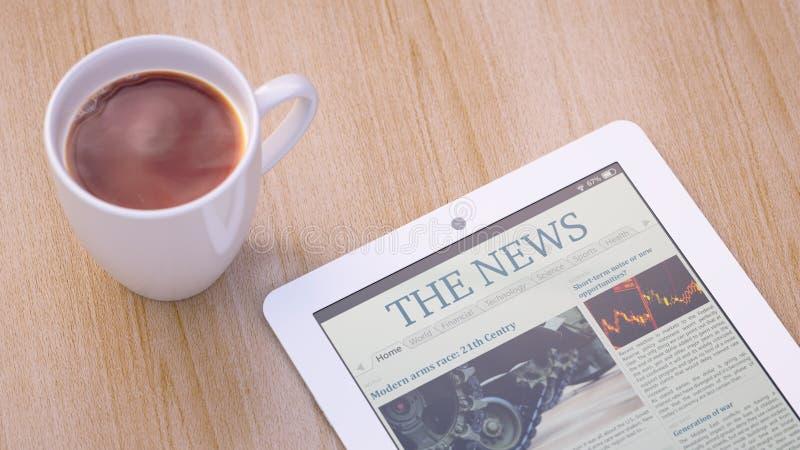 Ειδήσεις πρωινού στοκ φωτογραφίες με δικαίωμα ελεύθερης χρήσης