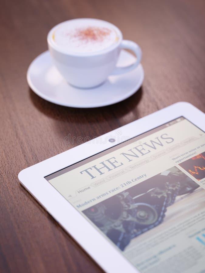 Ειδήσεις πρωινού στοκ εικόνες με δικαίωμα ελεύθερης χρήσης