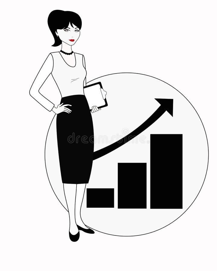 Ειδικές δημόσια σχέσεις στην άσπρος-μαύρη παραλλαγή απεικόνιση αποθεμάτων
