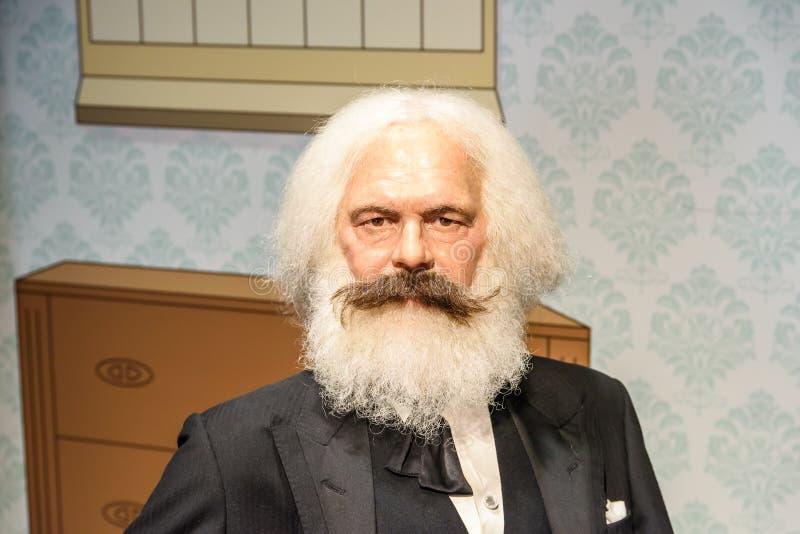 Ειδώλιο του Karl Marx στην κυρία Tussauds Wax Museum στοκ φωτογραφίες με δικαίωμα ελεύθερης χρήσης
