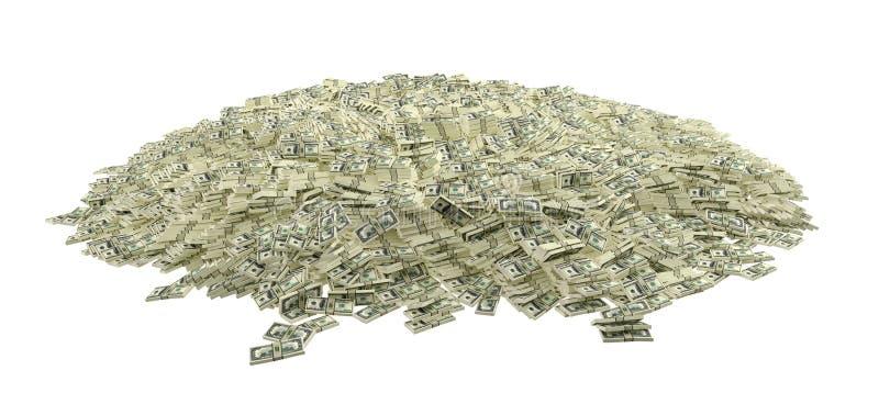 Εκατομμύρια των δολαρίων στοκ φωτογραφία