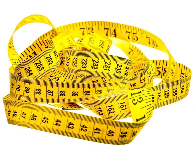 Εκατοστόμετρο του κίτρινου χρώματος στοκ φωτογραφία με δικαίωμα ελεύθερης χρήσης