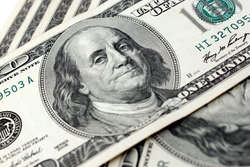 Εκατό δολάριο Bill στοκ εικόνες