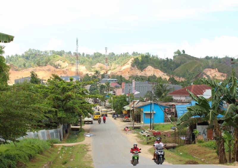 Εκβάθυνση στην περιοχή Sorong Montanious στοκ φωτογραφίες