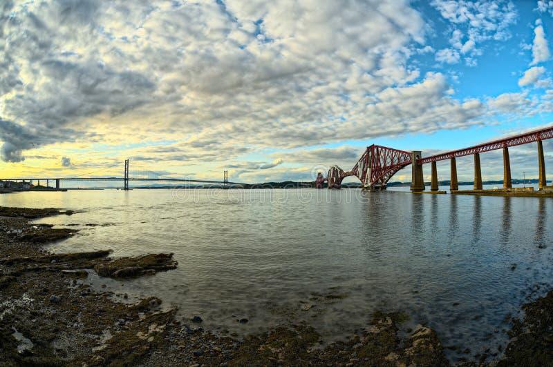 εκβολή εμπρός Σκωτία γεφ& στοκ εικόνες