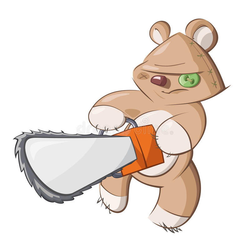 Download εκδίκηση s teddy διανυσματική απεικόνιση. εικονογραφία από αδελφών - 17050413